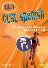 AQA GCSE Spanish Resources and Planning OxBox CD-ROM