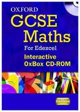 Oxford GCSE Maths for Edexcel: Interactive OxBox CD-ROM