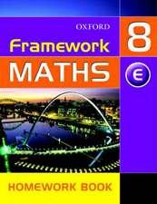 Framework Maths: Y8: Year 8 Extension Homework Book