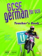 GCSE German for OCR Teacher's Resources Book (including e-Copymasters)