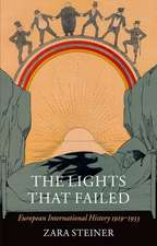 The Lights that Failed: European International History 1919-1933