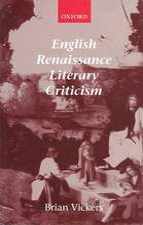 English Renaissance Literary Criticism