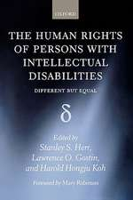 The Human Rights of Persons with Intellectual Disabilities: Different but Equal
