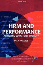 Hrm and Performance:  Achieving Long-Term Viability