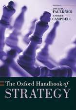 The Oxford Handbook of Strategy: A Strategy Overview and Competitive Strategy