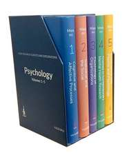 Psychology Volumes 1-5: ICSSR Research Surveys and Explorations