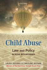 Child Abuse: Law and Policy Across Boundaries