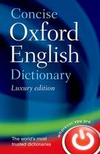 Concise Oxford English Dictionary. Luxury edition