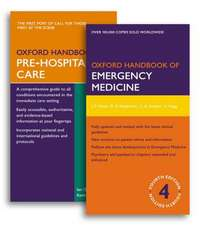 Oxford Handbook of Emergency Medicine and Oxford Handbook of Pre-Hospital Care Pack