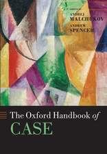 The Oxford Handbook of Case
