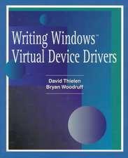 Writing Windows Virtural Device Drivers:  Using Visual Basic