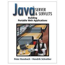 Java Server and Servlets: Building portable web applications