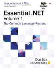 Essential .Net Volume 1:  The Common Language Runtime