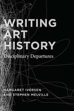 Writing Art History – Disciplinary Departures