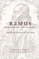 Ramus, Method and the Decay of Dialogue – From the  Art of Discourse to the Art of Reason