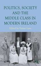 Politics, Society and the Middle Class in Modern Ireland