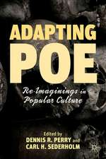 Adapting Poe: Re-Imaginings in Popular Culture
