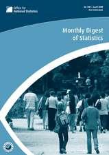 Monthly Digest of Statistics Volume 750, June 2008