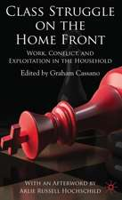 Class Struggle on the Home Front: Work, Conflict, and Exploitation in the Household