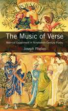 The Music of Verse: Metrical Experiment in Nineteenth-Century Poetry