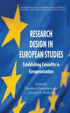 Research Design in European Studies: Establishing Causality in Europeanization