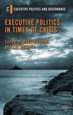 Executive Politics in Times of Crisis