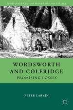 Wordsworth and Coleridge: Promising Losses