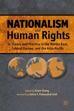 Nationalism and Human Rights: In Theory and Practice in the Middle East, Central Europe, and the Asia-Pacific