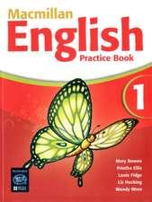 Macmillan English 1 Practice Book with CD-ROM