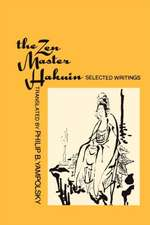 The Zen Master Hakuin – Selected Writings