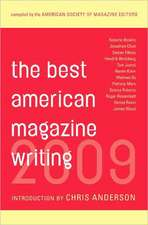 The Best American Magazine Writing 2009