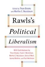 Rawls′s Political Liberalism