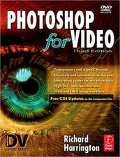 Photoshop for Video [With CDROM]:  Inside the Broadcast and Entertainment Industries