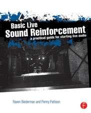Basic Live Sound Reinforcement