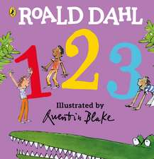 Roald Dahl: 123: (A Counting Board Book)