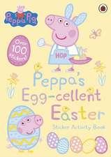 Peppa's Egg-cellent Easter Sticker Activity Book