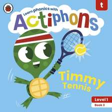 Actiphons Level 1 Book 3 Timmy Tennis