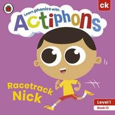 Actiphons Level 1 Book 13 Racetrack Nick