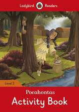 Pocahontas Activity Book - Ladybird Readers Level 2