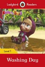 Masha and the Bear: Washing Day - Ladybird Readers Level 1