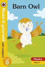 Barn Owl – Read it yourself with Ladybird Level 0: Step 8
