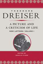 A Picture and a Criticism of Life: New Letters