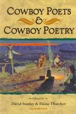 Cowboy Poets and Cowboy Poetry