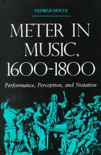 Meter in Music, 1600a1800:  Performance, Perception, and Notation