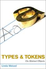 Types and Tokens – On Abstract Objects