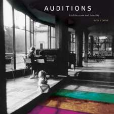 Auditions – Architecture and Aurality