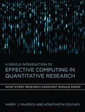 A Gentle Introduction to Effective Computing in Quantitative Research – What Every Research Assistant Should Know