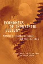 Economics of Industrial Ecology – Materials, Structural Change, and Spatial Scales