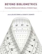 Beyond Bibliometrics – Harnessing Multidimensional Indicators of Scholarly Impact