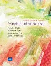 Principles of Marketing: European Edition